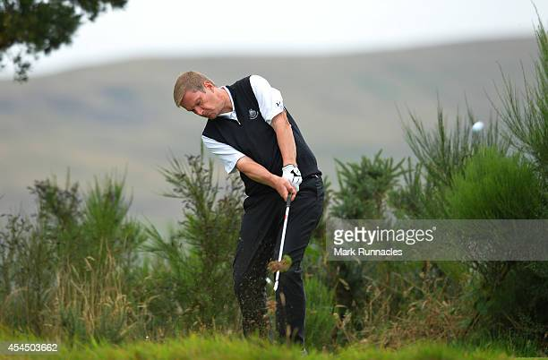 Andrew Crerar of Panmuir Golf Club during the first round of the Lombard Trophy Grand Final at Gleneagles on September 2 2014 in Auchterarder Scotland