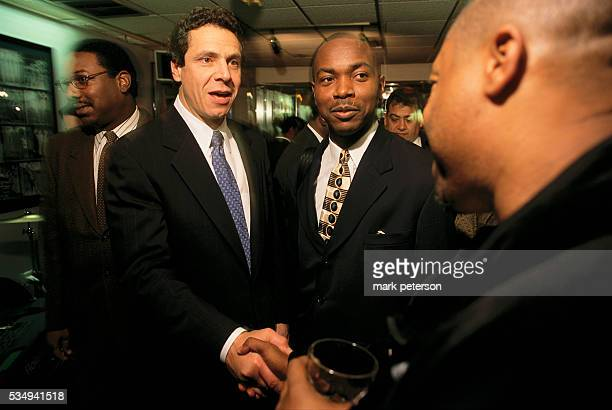 Andrew Cuomo Assistant Secretary of Community Planning and Development networking at Sylvia's Restaurant Andrew son of longtime Democratic New York...