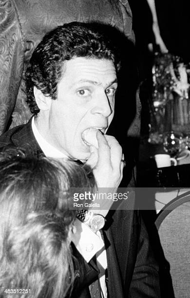 Andrew Cuomo attends Seventh Anniversary Celebration and Fundraiser for NY Governor Mario Cuomo on November 30 1989 at Sheraton Centre Hotel in New...