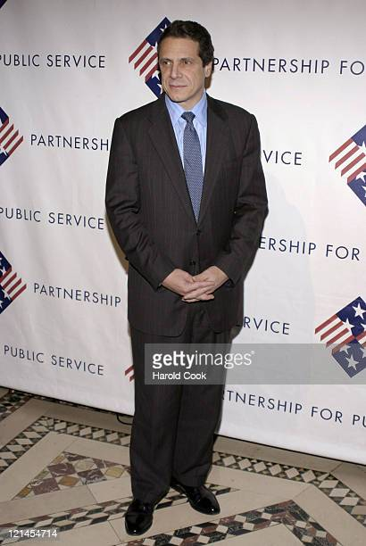 Andrew Cuomo during The Partership for Public Service Gala December 11 2006 at Cipriani in New York City New York United States