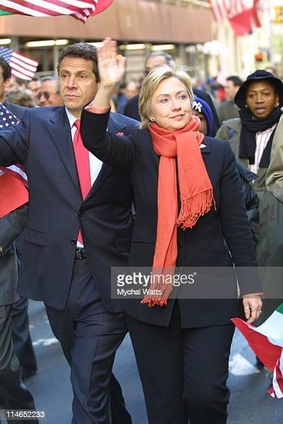 Andrew Cuomo Senator Hillary Rodham Clinton