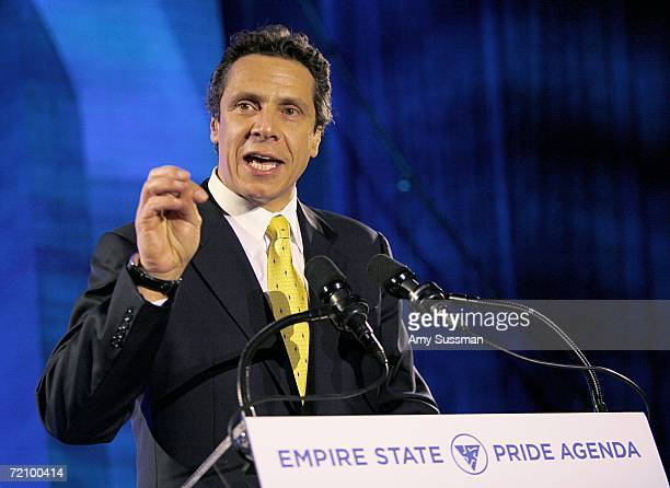 Andrew Cuomo speaks at The Empire State Pride Agenda's 15th Annual Fall Dinner at The Sheraton Hotel & Tower October 5, 2006 in New York City.