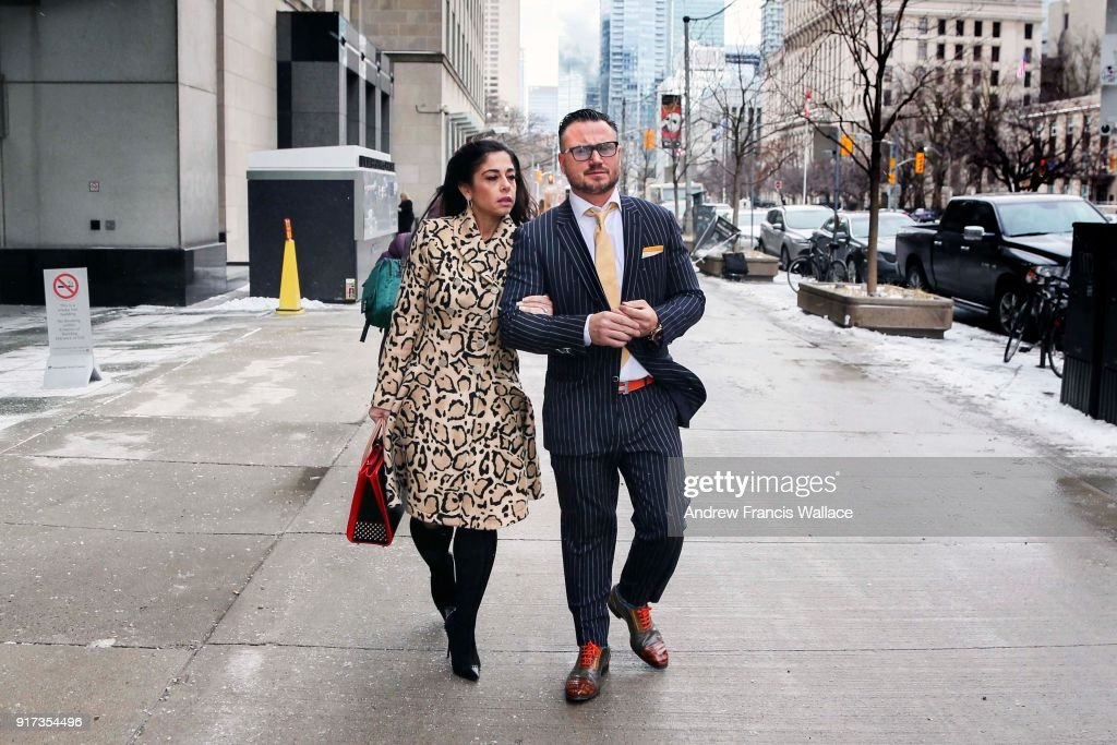 Toronto On February 5 Andrew Curnew And His Wife Dr Rita