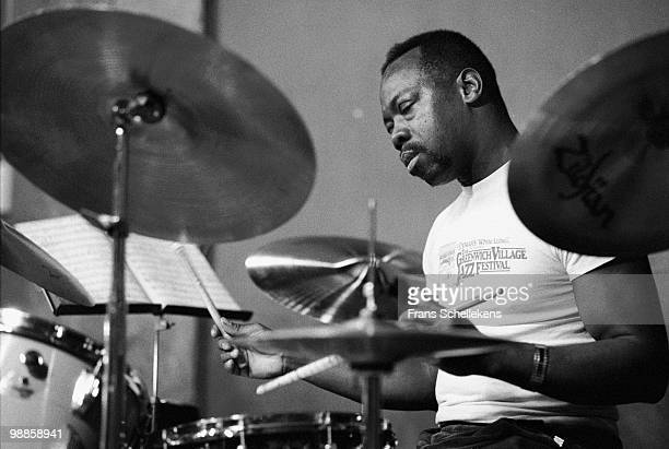 Andrew Cyrille performs live at Bimhuis in Amsterdam, Netherlands on January 12 1984