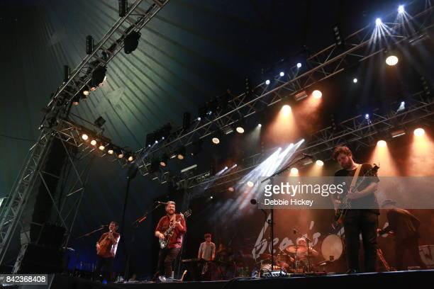03 Andrew Davie and Kevin Jones of BearÕs Den performs at Electric Picnic Festival at Stradbally Hall Estate on September 3 2017 in Laois Ireland
