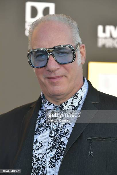 Andrew Dice Clay arrives at the Premiere Of Warner Bros Pictures' 'A Star Is Born' at The Shrine Auditorium on September 24 2018 in Los Angeles...