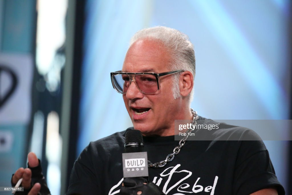 Andrew Dice Clay discusses his TV Show 'Dice' at Build Studio on August 16, 2017 in New York City.