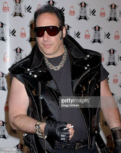Andrew Dice Clay during Arby's Action Sports Awards Arrivals at Center Staging in Burbank California United States