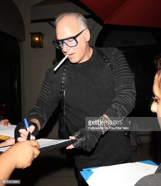 Andrew Dice Clay is seen on June 14 2018 in Los Angeles California