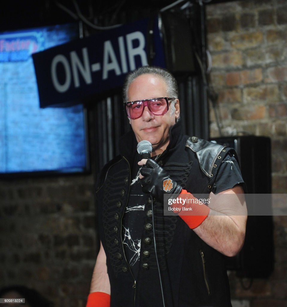 Andrew Dice Clay Performs At The Stress Factory Comedy Club