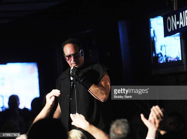 Andrew Dice Clay performs at The Stress Factory Comedy Club on June 12, 2015 in New Brunswick, New Jersey.