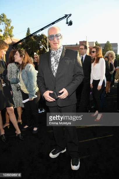 Andrew Dice Clay roaming the red carpet at the Premiere Of Warner Bros Pictures' 'A Star Is Born' at The Shrine Auditorium on September 24 2018 in...
