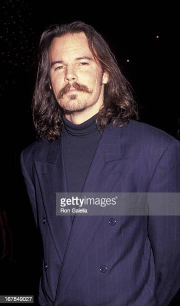 Andrew Divoff attends the premiere of 'Toy Soldiers' on April 23 1991 at the Director's Guild Theater in Hollywood California