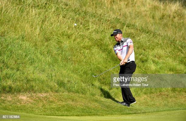 Andrew Dodt of Australia pictured on the 6th hole at Royal Birkdale on July 23 2017 in Southport England