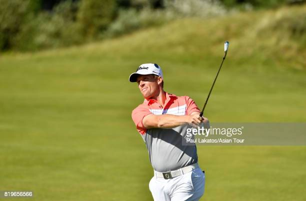 Andrew Dodt of Australia plays a shot on the 6th hole at Royal Birkdale on July 20 2017 in Southport England