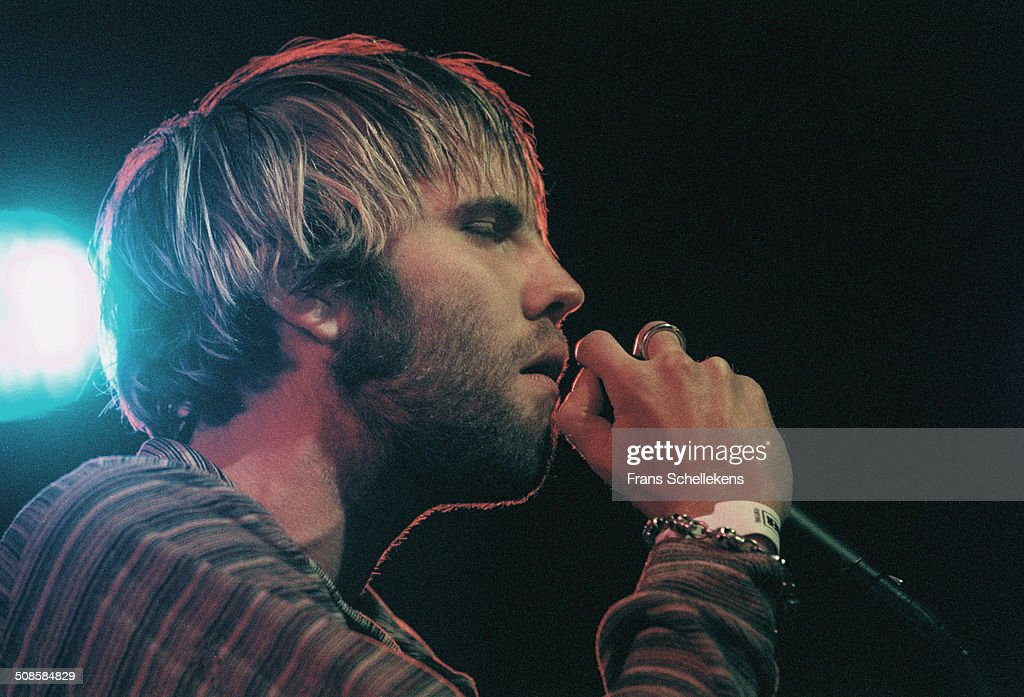 Andrew Dorff, vocal, performs during Crossing Border Festival at the Congres gebouw in the Hague, Netherlands on 13th September 1997.