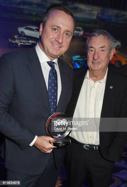 Andrew Doyle and Nick Mason attend the GQ Car Awards 2018 in association with Michelin at Corinthia London on February 5 2018 in London England