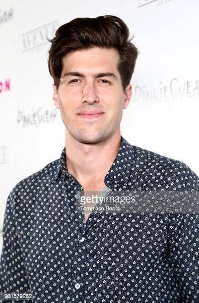Andrew Duplessie attends NYLON's Annual Young Hollywood Party sponsored by Pinkie Swear at Avenue Los Angeles on May 22 2018 in Hollywood California