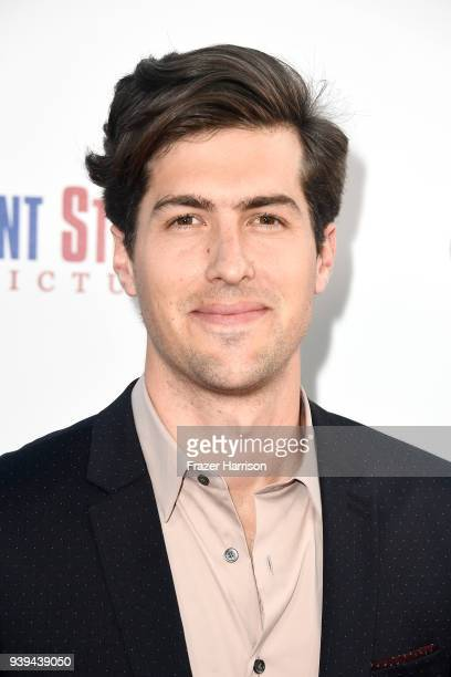 Andrew Duplessie attends the premiere of Entertainment Studios Motion Picture's 'Chappaquiddick' at Samuel Goldwyn Theater on March 28 2018 in...