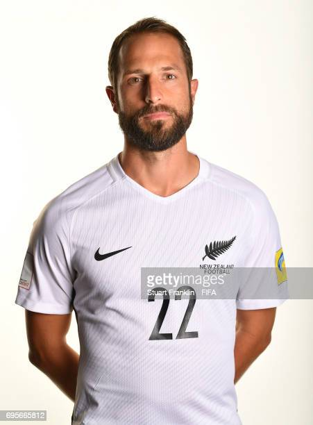 Andrew Durante of New Zealand poses for a pictures during the New Zealand team portrait session on June 13 2017 in Saint Petersburg Russia