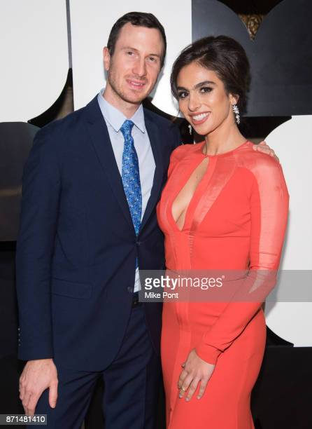 Andrew Erdos and Shari Loeffler attend the 2017 Museum of Arts Design MAD Ball at Cipriani 42nd Street on November 7 2017 in New York City