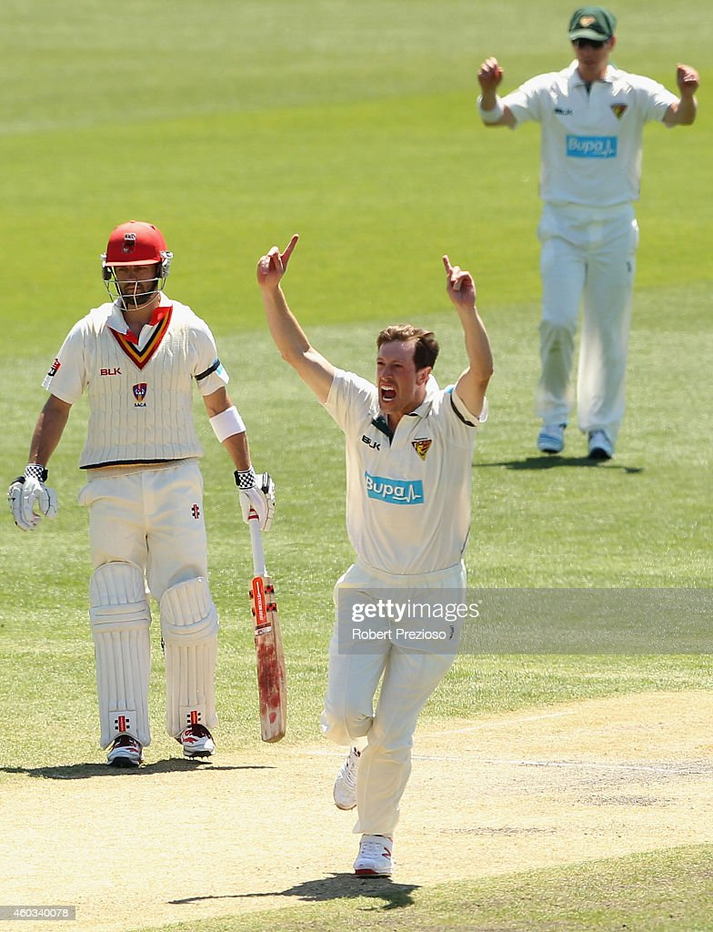 TAS v SA - Sheffield Shield: Day 4
