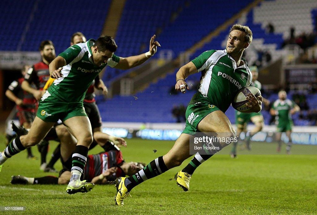 London Irish v Edinburgh Rugby - European Rugby Challenge Cup : News Photo