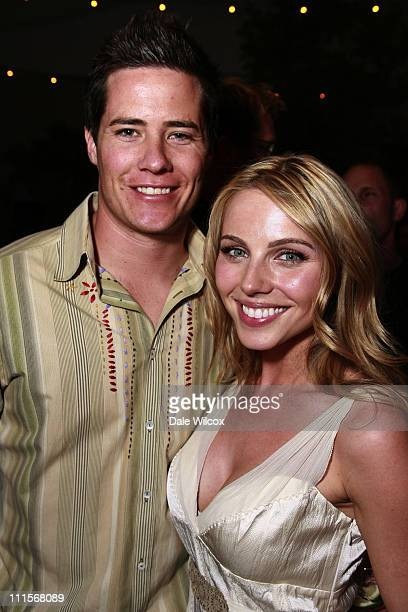 Andrew Firestone and Ivana Bozilovic during Partida Tequila Party at Republic in Los Angeles April 20 2006 at Republic in Los Angeles CA United States