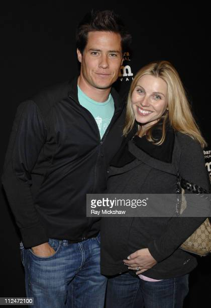 Andrew Firestone and Ivana Firestone attend the premiere of Waverider on day 7 of the Santa Barbara International Film Festival on January 28 2009 in...