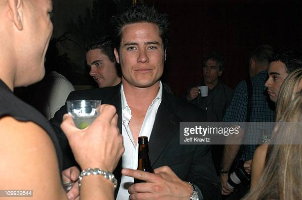 Andrew Firestone during 2003 MTV Movie Awards Backstage and Audience at The Shrine Auditorium in Los Angeles California United States