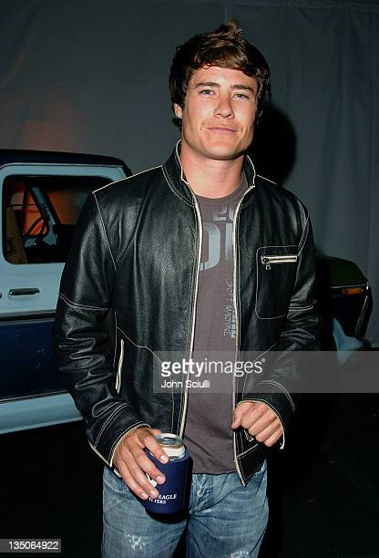 Andrew Firestone during American Eagle Outfitters Rocks Los Angeles with a Back to School Tailgate Party Inside at Hollywood Lot in Hollywood...