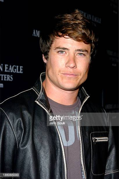 Andrew Firestone during American Eagle Outfitters Rocks Los Angeles with a Back to School Tailgate Party Red Carpet at Hollywood Lot in Hollywood...