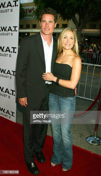 Andrew Firestone Jen during SWAT Premiere at Mann Village Theatre in Westwood California United States
