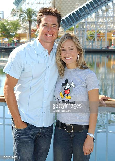 Andrew Firestone Jennifer Schefft during 2003 ABC Primetime Preview Weekend Day 2 at Disney's California Adventure in Anaheim California United States