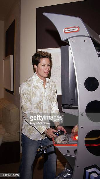 Andrew Firestone with Nintendo during 2004 Park City HP Portrait Studio Hosted by Wireimage at Hp Portrait Studio in Park City Utah United States