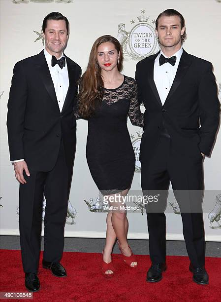 Andrew Fitch and Orion Griffiths attend the Tavern on the Green Grand Opening Gala on May 12 2014 in New York City