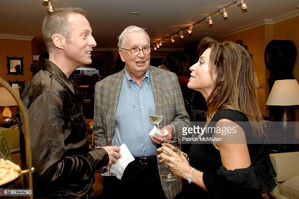 Andrew Flesher Tom Gunkelman and Iris Dankner attend Kickoff Party for HOLIDAY HOUSE to Benefit The Greater NYC Affiliate of SUSAN G KOMEN for THE...