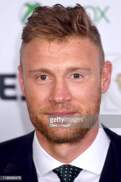Andrew Flintoff attends the 2019 'TRIC Awards' held at The Grosvenor House Hotel on March 12, 2019 in London, England.