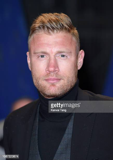 Andrew Flintoff attends the National Television Awards held at The O2 Arena on January 22, 2019 in London, England.