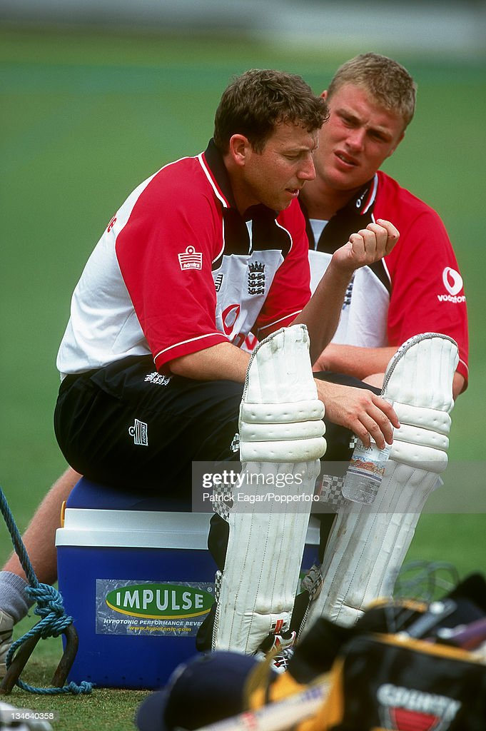 England v West Indies, 4th Test, The Oval, Aug 04 : News Photo