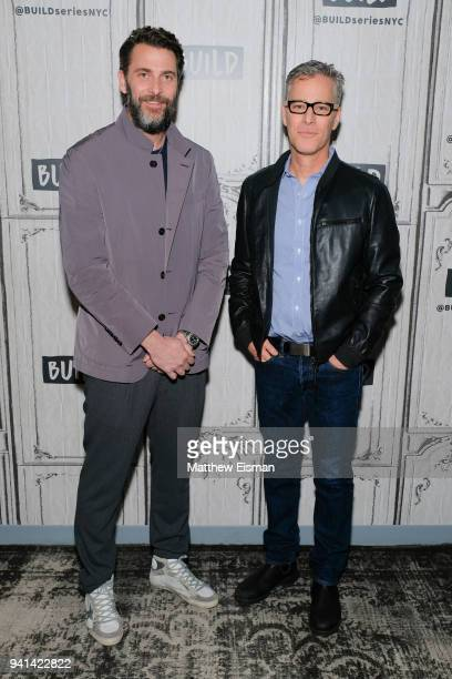 Andrew Form and Brad Fuller visit Build Studio to discuss the film 'A Quiet Place' on April 3 2018 in New York City