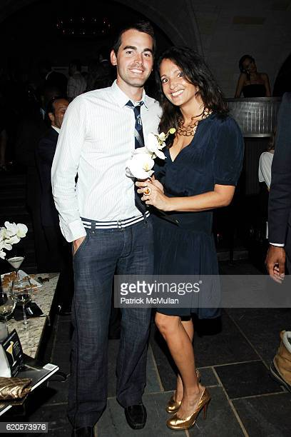 Andrew Freesmeier and Emma SnowdonJones attend MANHATTAN MAGAZINE LAUNCH PRESS EVENT at Bryant Park Hotel on September 9 2008 in New York City