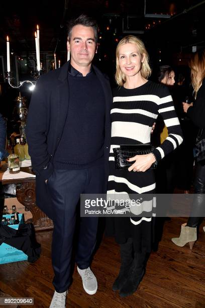 Andrew Freesmeier and Kelly Rutherford attend Ken Fulk's 'OldFashioned TequilaFueled Holiday Party' at Ken Fulk Tribeca on December 13 2017 in New...