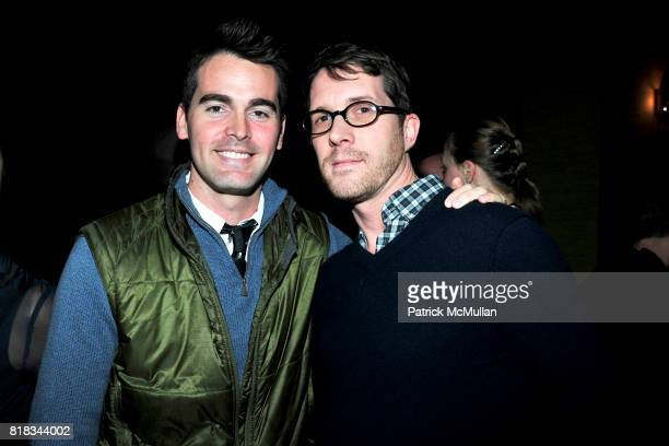 Andrew Freesmeier and Stephen Keefe attend FEED THE HOMELESS A Fundraiser for the Coalition of the Homeless at TriBeCa Grand Hotel on February 4 2010...