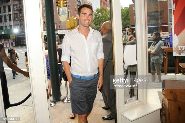Andrew Freesmeier attends KIEHL'S Party to Support Gay Pride with The Men's Sexual Health Project at KIEHL'S on June 27 2009 in New York