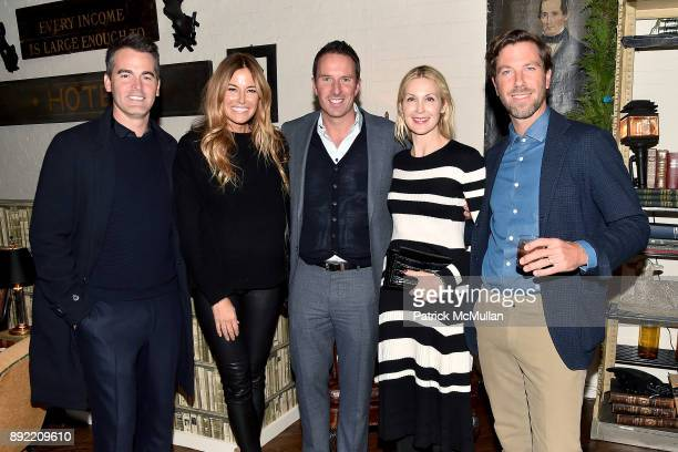 Andrew Freesmeier Kelly Killoren Bensimon Trent Fraser Kelly Rutherford and Lucas Dirksen attend Ken Fulk's 'OldFashioned TequilaFueled Holiday...