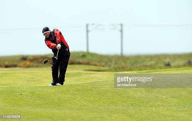 Andrew Fullen of Largs Golf Club during the Glenmuir PGA Professional Championship at Dundonald Links Golf Course on May 24 2011 in Irvine Scotland