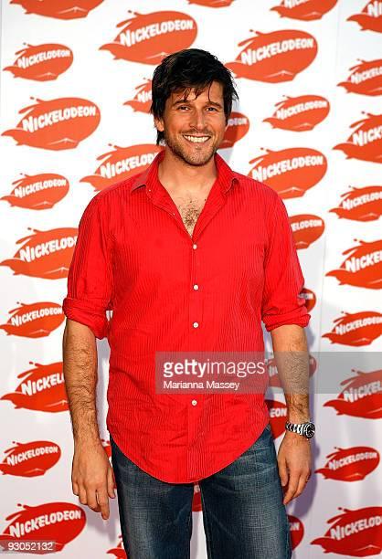 Andrew G arrives for the Australian Nickelodeon Kids' Choice Awards 2009 at Hisense Arena on November 13 2009 in Melbourne Australia