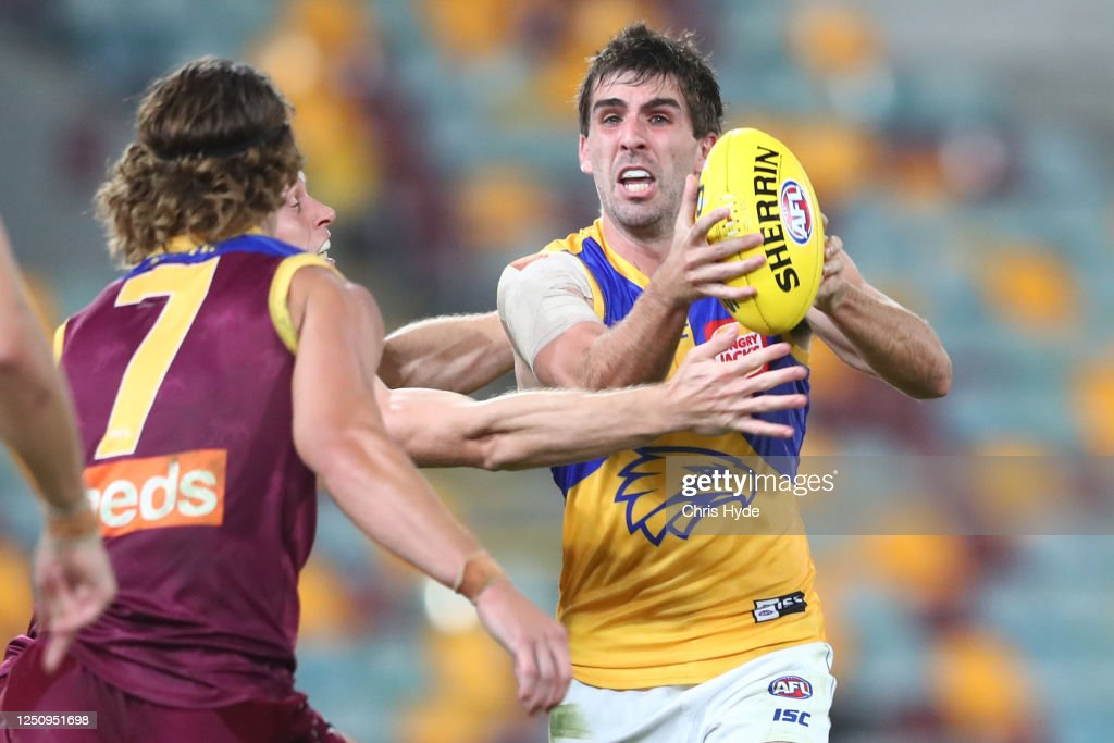 AFL Rd 3 - Brisbane v West Coast : News Photo