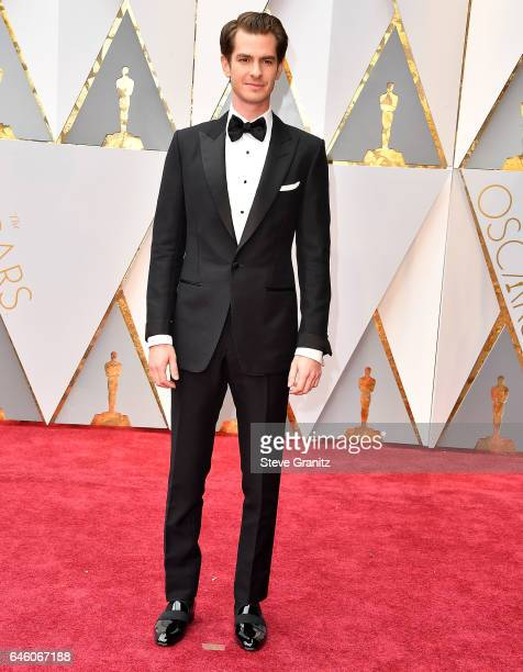 Andrew Garfield arrives at the 89th Annual Academy Awards at Hollywood Highland Center on February 26 2017 in Hollywood California